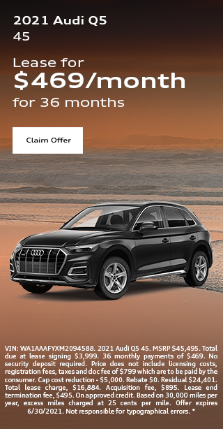 2020 Audi Q7 Lease Special