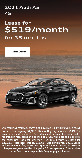 2020 Audi Q5 Lease Special